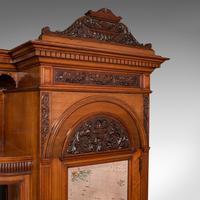 Large Fine Antique Wardrobe Compactum, English, Walnut, Gillow & Co, Victorian (7 of 12)