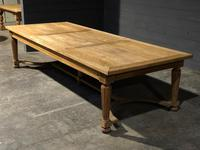 Huge Oak Table from the Bank of France (21 of 21)