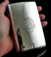 Antique Silver Cigar Case, Edwardian, Sampson & Mordan (10 of 13)