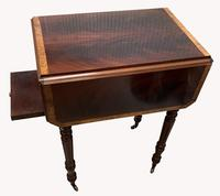 Pair of Superb Flame Mahogany Victorian Bedside Tables (2 of 8)