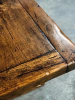 Wonderful French Chestnut Farmhouse Refectory Dining Table (4 of 37)