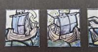 Florence Camm, Watercolour Stained Glass Window Design, Story of Undine c.1930 (4 of 5)