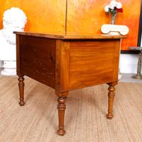 Walnut Chest of Drawers Victorian Side Cabinet 19th Century (7 of 11)