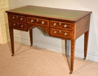 Regency Mahogany Writing Table Desk (8 of 8)