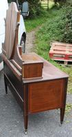 1900's Quality Mahogany Dressing Table with Central Mirror Stand (2 of 5)