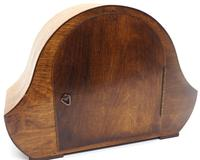 Art Deco Hat Shaped Mantel Clock – Striking 8-day Arched Top Mantle Clock (8 of 10)