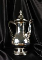 High Quality George III Style Silver Coffee Pot (7 of 10)