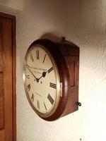 London, Twin-Fusee, Bell Striking Wall Clock (2 of 5)