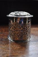 Antique Solid Silver Tea Caddy (3 of 5)