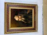 19th Century Oil on Canvas Portrait (7 of 7)