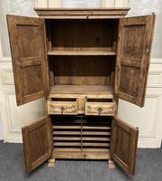 French Gothic Oak Rustic Cupboard or Wardrobe (14 of 22)