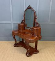 Excellent Victorian Mahogany Duchess Dressing Table (12 of 21)