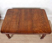 Oak Dining Table 6 Seater Victorian Wild Golden Oak 19th Century Solid (13 of 16)