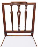 Set of 6 Georgian Mahogany Dining Chairs 19th Century c.1820 (6 of 7)