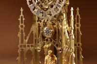 Scottish Interest Historically Interesting Sir Walter Scott Skeleton Clock. (5 of 14)