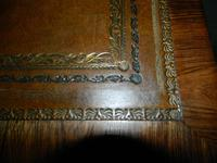 William IV Rosewood Writing Table / Library Table (6 of 6)