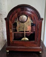 George III Mahogany Fusee Bracket Clock (5 of 6)