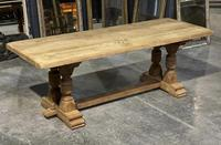 French Oak Refectory Farmhouse Dining Table (7 of 12)