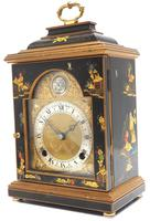 Good Caddy Top Mantel Clock – Chinoiserie Striking 8-day Mantle Clock by Elliot London (4 of 13)