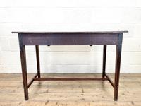Antique Mahogany Side Table with Drawers (10 of 10)