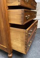 18th Century French Fruitwood Tall Chest of Drawers (7 of 18)