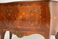 Antique French Inlaid Marquetry Bombe Chest (2 of 11)