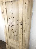 Antique Pine Narrow Food Cupboard (8 of 10)