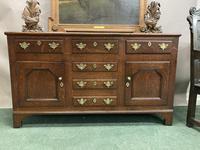 18th Century Oak Cupboard Dresser