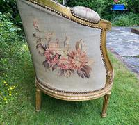 Gilt Needlepoint Sofa (5 of 6)