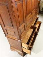 Outstanding Mid 18th Century Oak Livery or Housekeepers Cupboard (3 of 5)