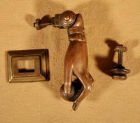 Interesting Bronze Door Knocker in the Shape of a Hand (8 of 8)