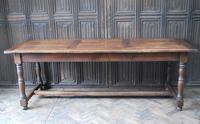 French Oak Kitchen Farmhouse Table (8 of 9)