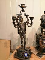 Superb Quality & Unusual French Clock Garniture (11 of 19)
