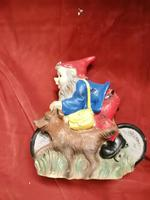Vintage Early Plastic Gnome