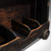Antique Industrial Machinist's Truck, English, Trolley, Kitchen, Wine, Victorian (11 of 12)