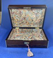 Victorian Rosewood Gentlemen's Vaniety Box (3 of 13)