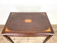 Edwardian Mahogany Metamorphic Writing Desk by Edwards & Sons (8 of 10)