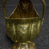 Late Victorian Brass Coal Helmet (6 of 14)