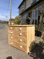 Antique Pine Two Over Three Chest of Drawers (6 of 11)