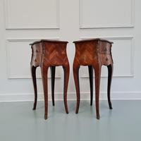 French Kingwood Bedside Tables c.1930 (3 of 6)