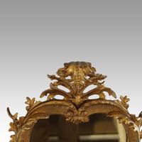Rare Antique Gilt Florentine Mirror (5 of 6)