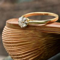 The Vintage Brilliant Cut Diamond Solitaire Ring (3 of 5)