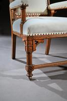 19th Century Oak Gothic Armchair By G Tilley Of Birmingham (6 of 10)