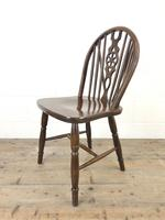 Set of Four Wheelback Dining Chairs (10 of 11)