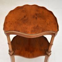 Regency Style Yew Wood Side Table (5 of 6)