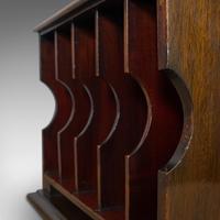 Antique Stationery Rack, Mahogany, Desk, Correspondence, Asprey London c.1910 (8 of 12)