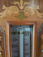 Superb Antique Rosewood Sheraton Inlaid Barometer (4 of 7)