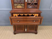 Edwardian Inlaid Mahogany Secretaire Bookcase (11 of 21)