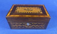 Victorian Rosewood Box With Inlay (3 of 17)