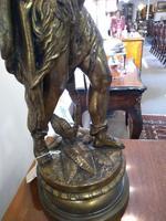 Bronze Warrior Torchere (6 of 12)